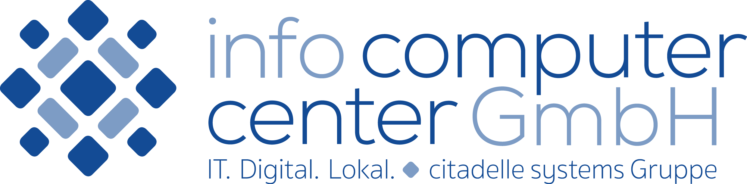 Logo info computer center GmbH